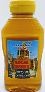 Kansas Wildflower Honey 1 lb Squeeze Bottle Raw Pure