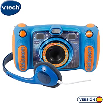 Amazon.es: VTech-80-170822 Cámara de Fotos, Color Azul (3480-170822)