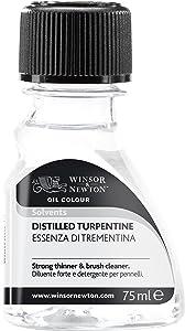 Winsor & Newton 3221744 Distilled Turpentine, 75ml