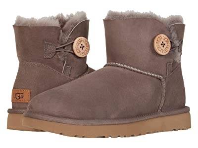 UGG Mini Bailey Button II (Mole) Women