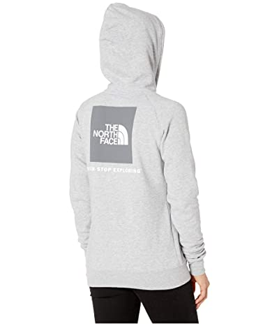 The North Face Red Box Pullover Hoodie (TNF Light Grey Heather/Asphalt Grey) Women