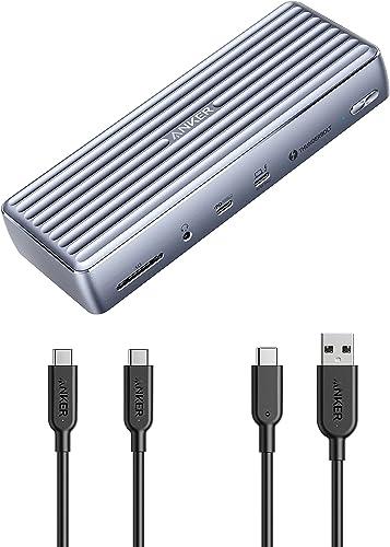 2021 Anker USB-C online sale to USB-C 3.1 online Gen 2 Cable (3ft) + Anker USB-C to USB 3.1 Gen2 Cable(3ft) + Anker Apex 12-in-1 Thunderbolt 4 Dock online