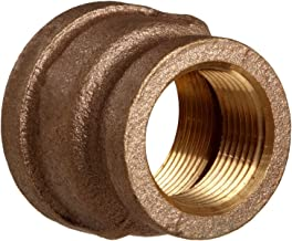 Lead Free Brass Pipe Fitting, Reducing Coupling, Class 125, 1