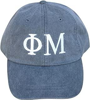 Mega_Greek Womens Phi Mu Baseball Cap