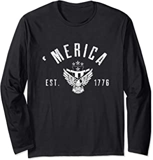 Merica EST 1776 Long Sleeve T-Shirt