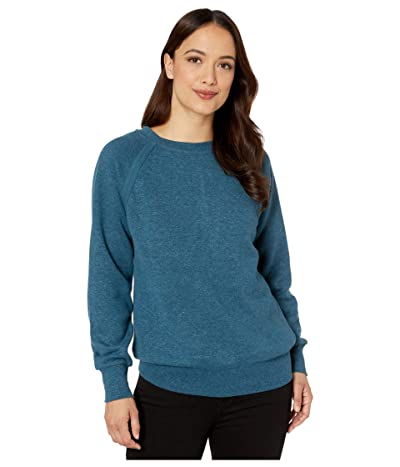 Prana Cozy Up Sweatshirt (Atlantic Heather) Women