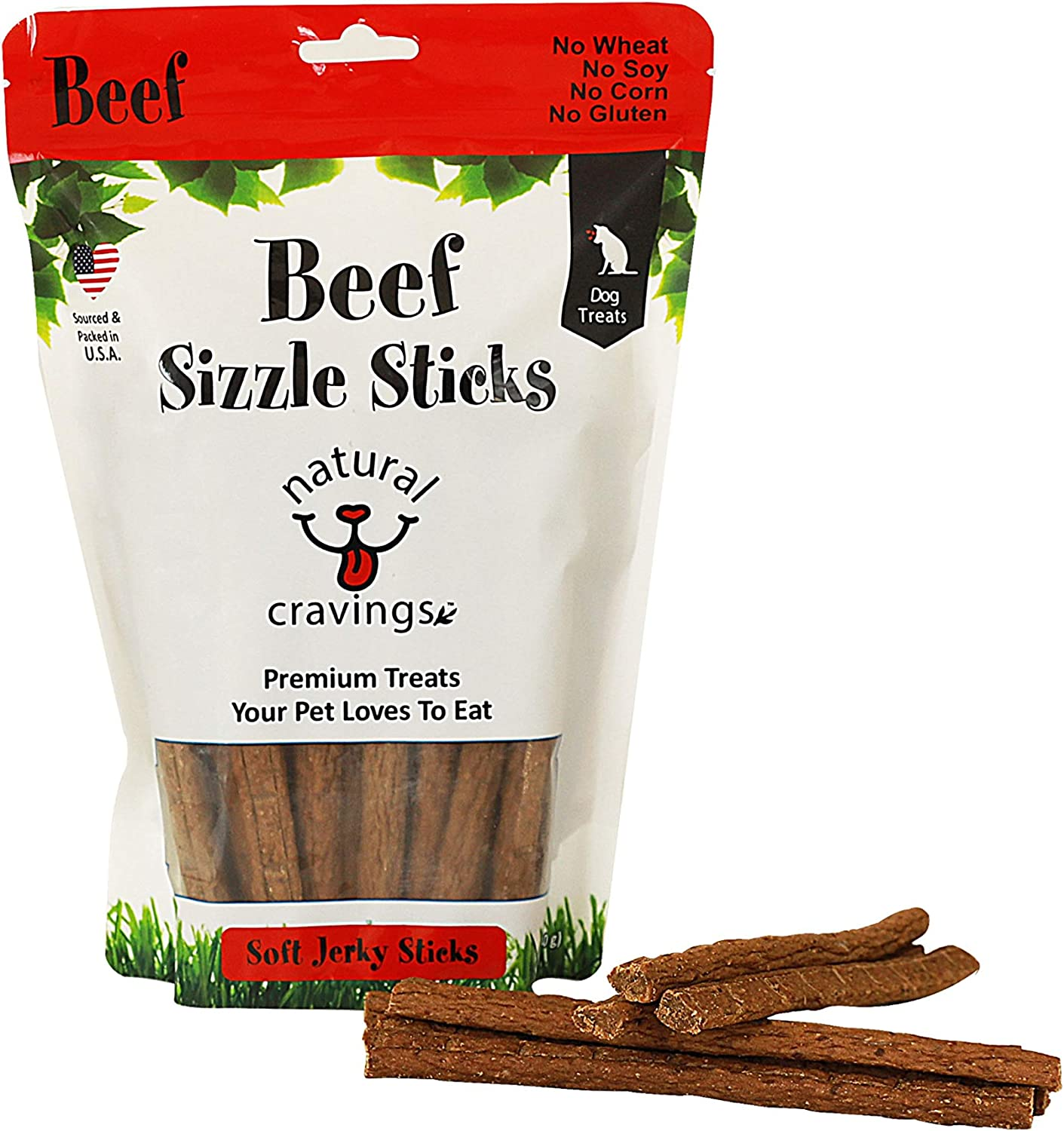 Natural Cravings Sizzle Sticks Special price for a limited time Jerky Discount is also underway Dog Bag P oz. Treats 12