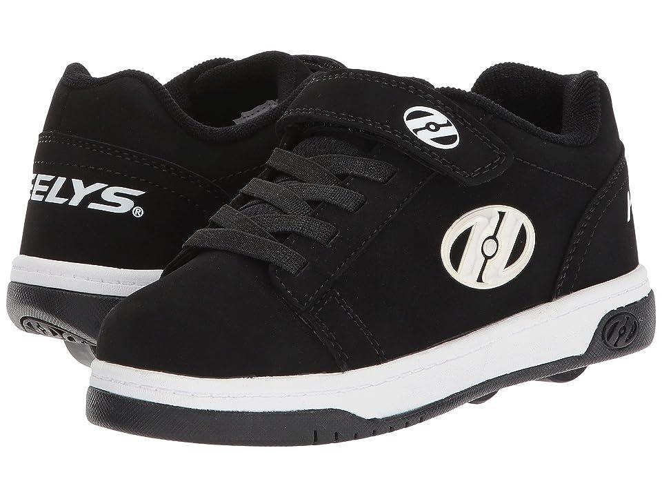 Heelys Dual Up x2 (Little Kid/Big Kid) (Black/White) Boys Shoes