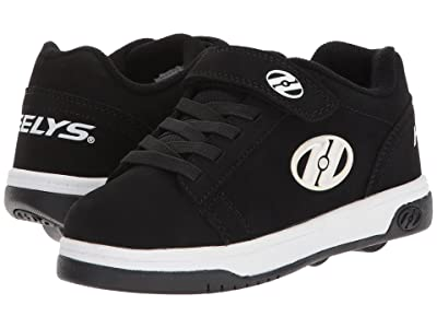 Heelys Dual Up x2 (Little Kid/Big Kid) (Black/White) Boys Shoes
