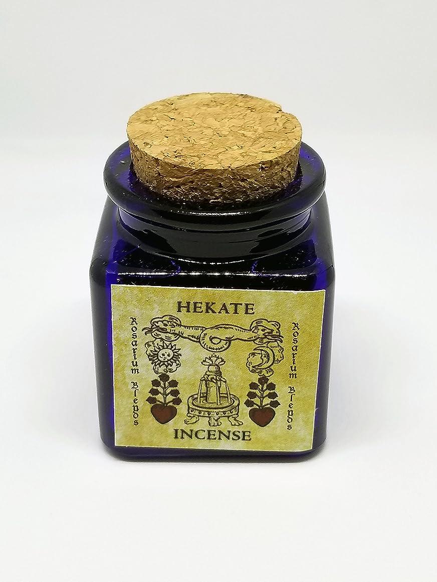 スリチンモイ接ぎ木記述する手作りお香ブレンド: Hekate