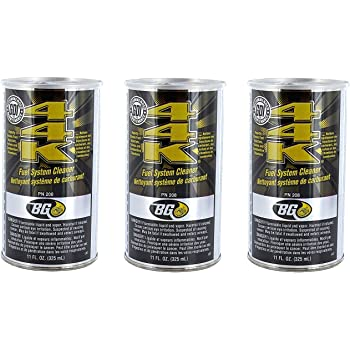 BG Products 44K Fuel System Cleaner - 3 Pack