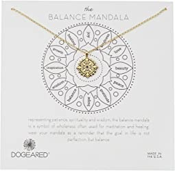 The Balance Small Center Circle Mandala Necklace