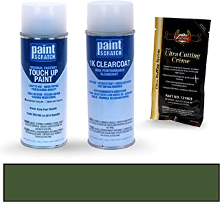 PAINTSCRATCH Hunter Green Pearl Metallic X8E/X9E for 2014 Hyundai Santa Fe - Touch Up Paint Spray Can Kit - Original Factory OEM Automotive Paint - Color Match Guaranteed