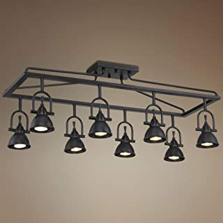 Pro Track Kane 8-Light Bronze Cage Track Fixture - Pro Track
