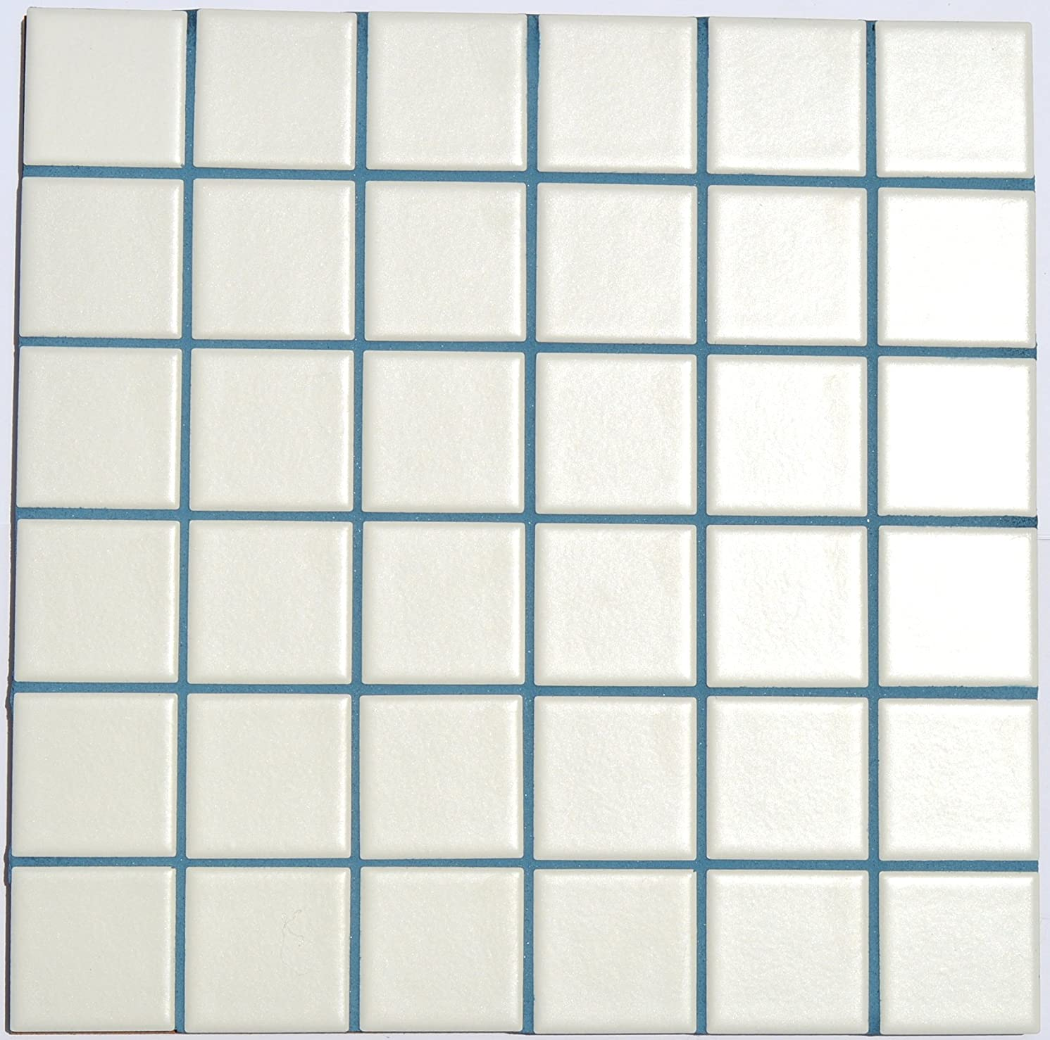Williamsburg Blue Unsanded Tile Grout - 10 lbs - with Blue Pigment in The Mix.
