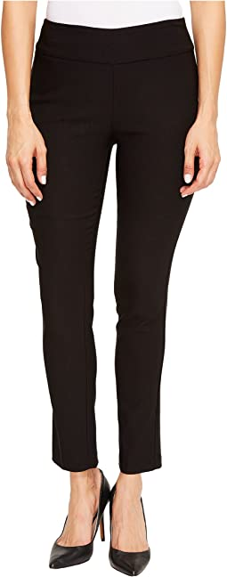 "Stretch Bengaline 28"" Flatten It Pull-On Ankle Pants"