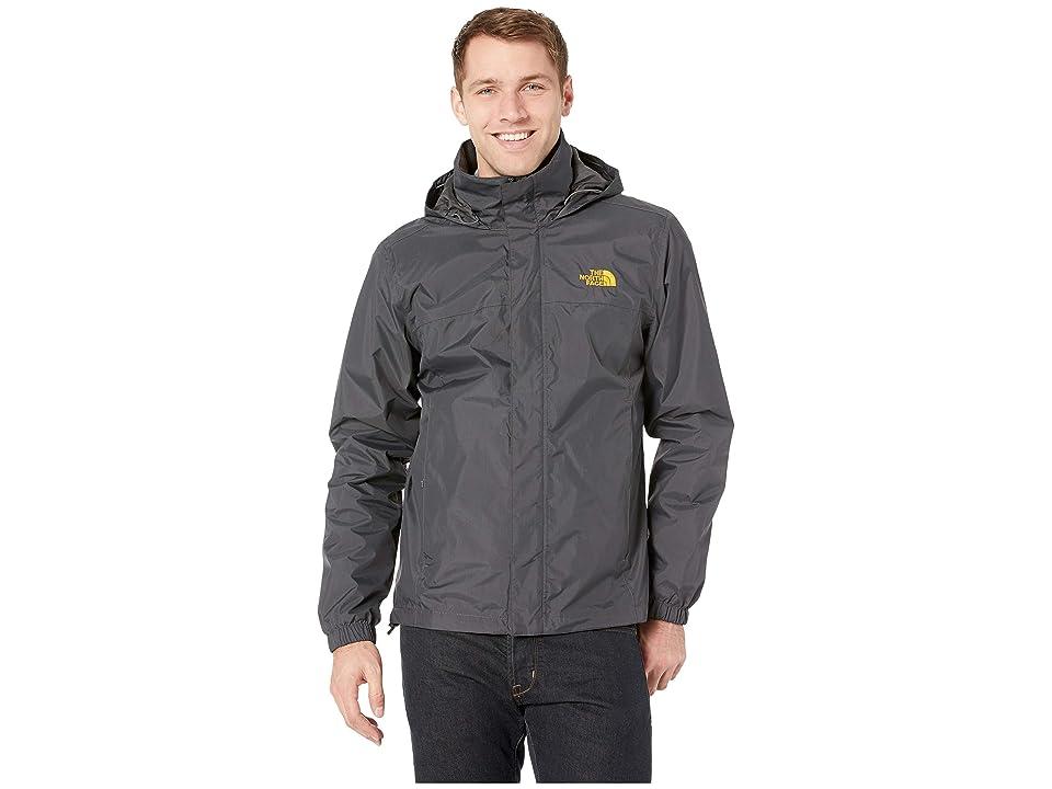 The North Face Resolve 2 Jacket (Asphalt Grey/Zinnia Orange) Men