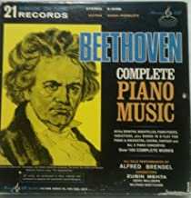 Beethoven Complete Piano Music