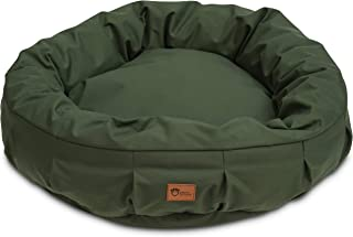 Superior Pet Goods Harley Canvas Dog Bed, Green, Large