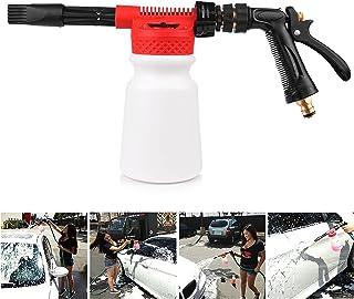 Snow Foam Lance Auto Reinigungspistole   multifunktionaler Auto Reinigungs Schaum Versprüher   für Auto und Motorrad   900ml