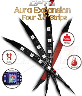 "4pc – OPT7 Aura LED Expansion Pack – 3.5"" Inline Strips with Splitters.."