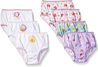 Peppa Pig Girls Combed Cotton Character Toddler 7pk Panty Panties - Multi
