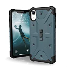 URBAN ARMOR GEAR UAG iPhone XR [6.1-inch Screen] Pathfinder Feather-Light Rugged [Slate] Military Drop Tested iPhone Case