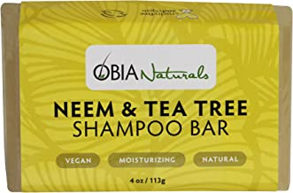 tea tree neem shampoo bar