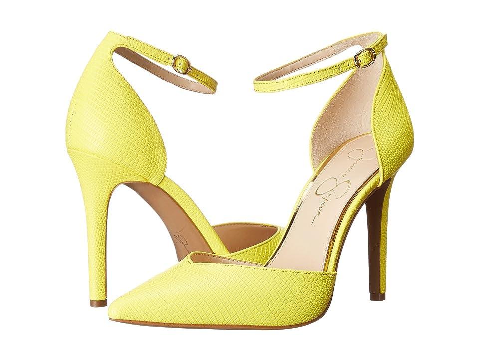 Jessica Simpson Cirrus (Sour Lemon) High Heels