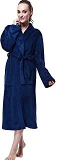 CLPP'LI Women Soft Fleece Bathrobe