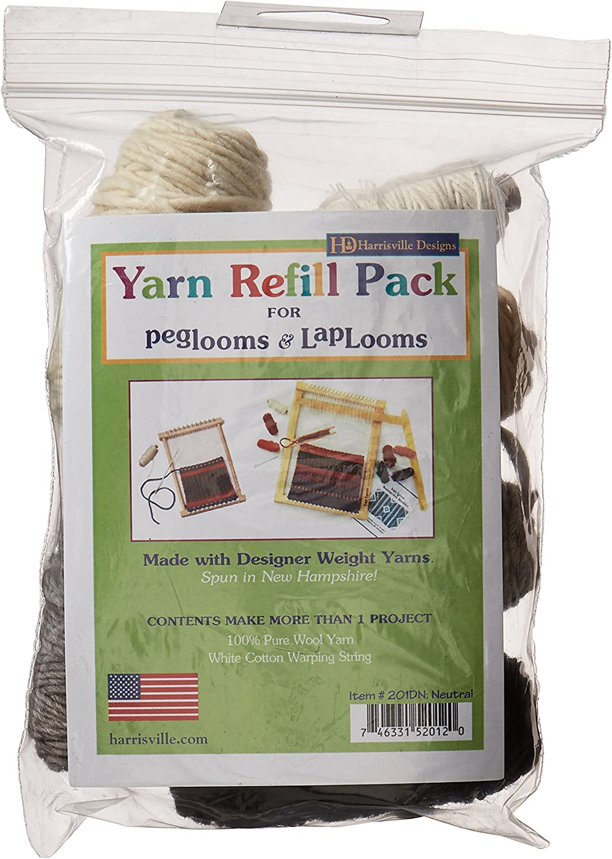 Harrisville Designs Friendly Loom Genuine Lap Peg New product type Yarn Refil