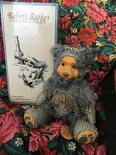 Robert Raikes Aquamarine March Birthday Bear Limited