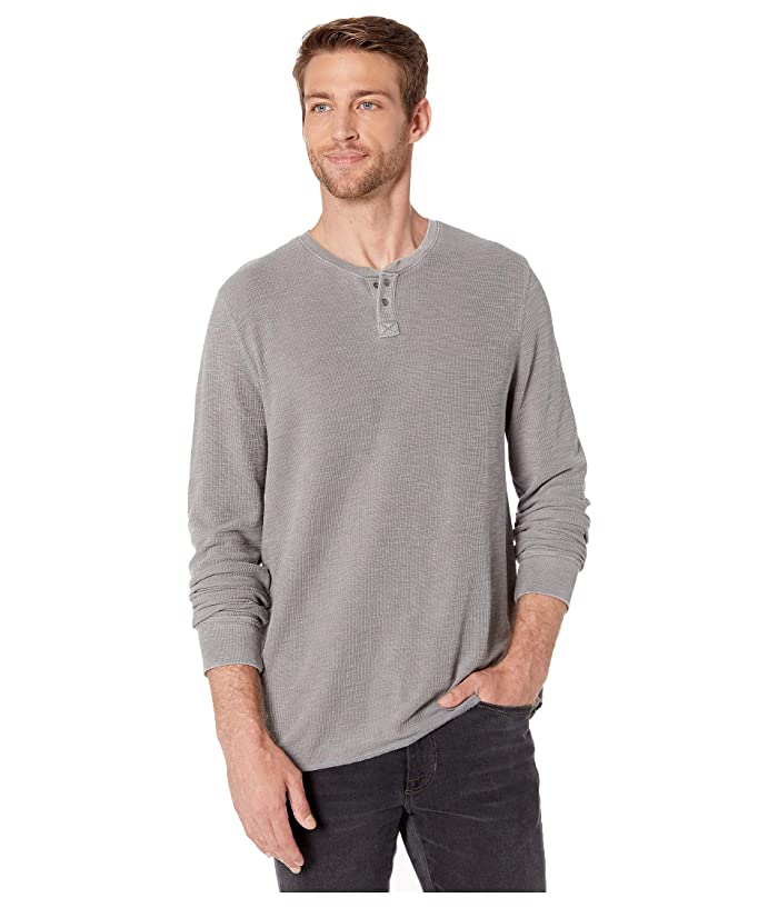 Lucky Brand  Thermal Snap Notch (Sedona Sage) Mens Clothing