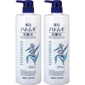 【まとめ買い】 麗白 ハトムギ化粧水 本体 大容量サイズ 1000ml×2個
