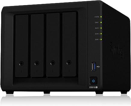 Synology 4 bay NAS DiskStation DS918+ (Diskless)
