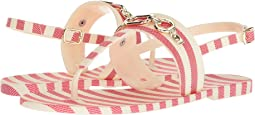 Red/Cream Striped Rubber