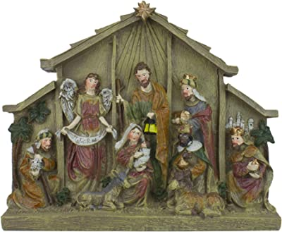 Northlight Nativity Scenes and Sets, Brown