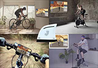 Jacfit JB101 Designs for Your Bike Trainer Stand, Exercise Bike, Stationary Bike, Spin Bike which Offers a Free Online Gam...