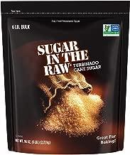 Sugar In The Raw Turbinado Cane Sugar, Made Using 100% Natural Pure Cane Sugar, 6 lbs (Exp. 2019 or later)