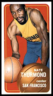 1970-71 Topps #90 Nate Thurmond San Francisco Warriors NBA Basketball Card EX Excellent