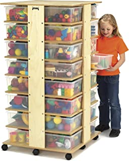 Jonti-Craft 03540JC 32 Tub Tower with Clear Tubs