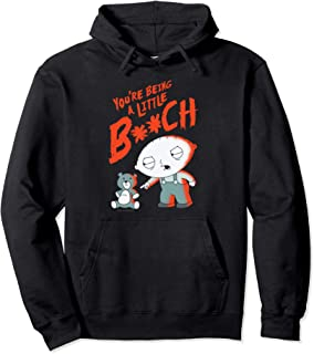 Family Guy Stewie Being A Little B Pullover Hoodie Pullover Hoodie