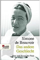 Das andere Geschlecht: Sitte und Sexus der Frau (German Edition) Kindle Edition