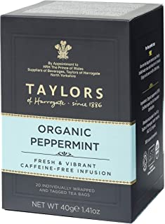 taylors organic peppermint tea