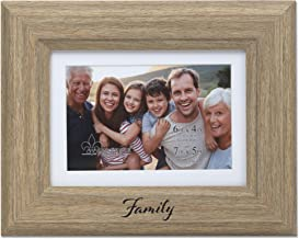 Lawrence Frames Family Picture Frame, 4x6, Natural