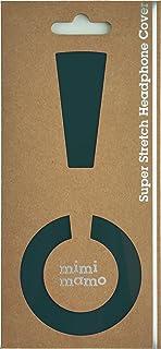 ボロボロのイヤーパッドが復活|修理・保護・汗ムレの解消に|mimimamo スーパーストレッチヘッドホンカバー M (グリーン) ※各機種への対応はメーカーHPのヘッドホン対応表をご確認ください
