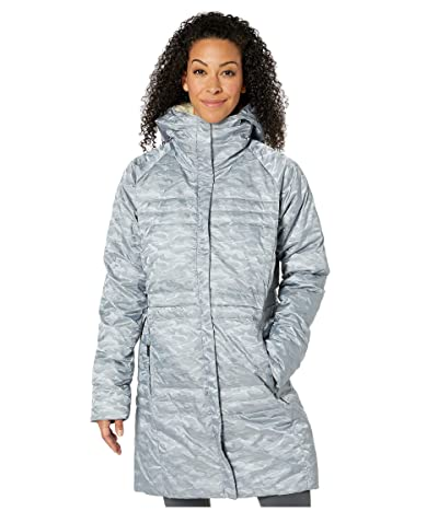 Columbia Ruby Fallstm Down Mid Jacket (Tradewinds Grey Jacquard/Chalk Sherpa) Women