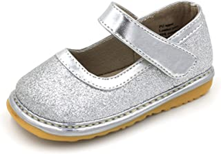 Squeaky Shoes | Sparkle Mary Jane Toddler Girl Shoes Removable Squeakers