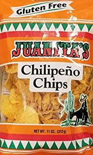 Juanita's Chilipeno Tortilla Chips (Pack of 2 bags) - Pacific Northwest Product -