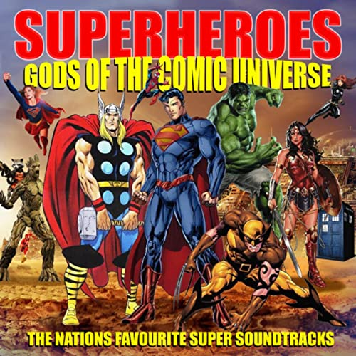 Avengers Infinity War Theme by Gods Of The Comic Universe on Amazon